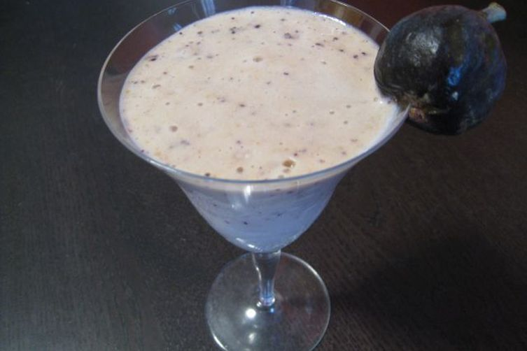 Banana Fig Smoothie