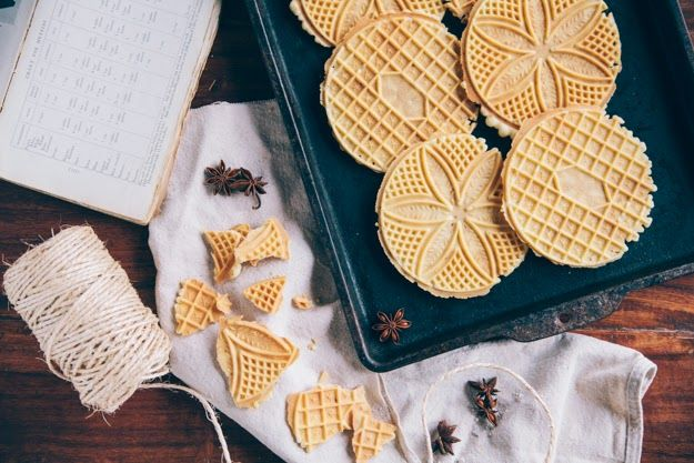 Classic Anise Pizzelles
