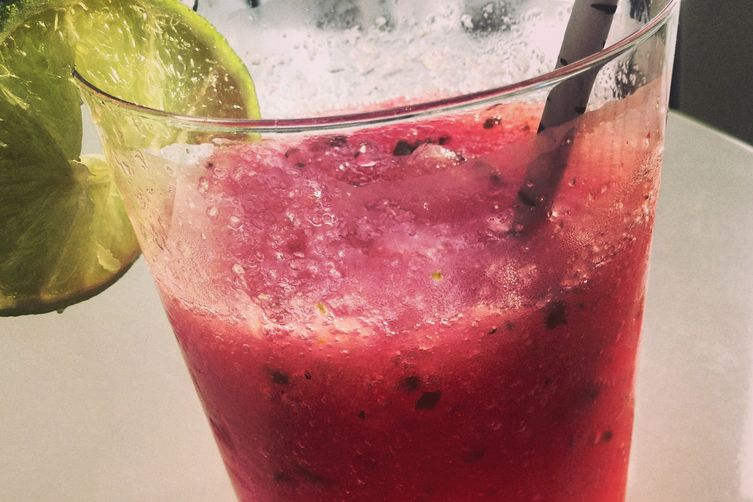 Frozen Watermelon Mint Gin Fizz Recipe on Food52