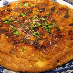 Savory Squash and Mushroom Frittata with Jalapeno and Cinnamon