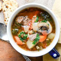 healthy beef vegetable soup