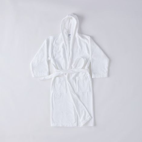 Sferra Hooded Cotton Robe
