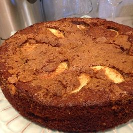 Cinnamon Honey Apple Cake