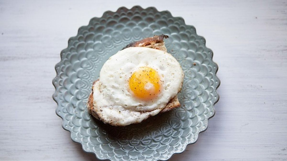 Image result for fried eggs and toast