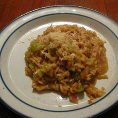 Mahogony Risotto with Two Celeries