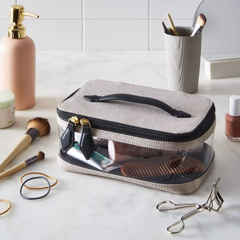 See-All Canvas Vanity Case