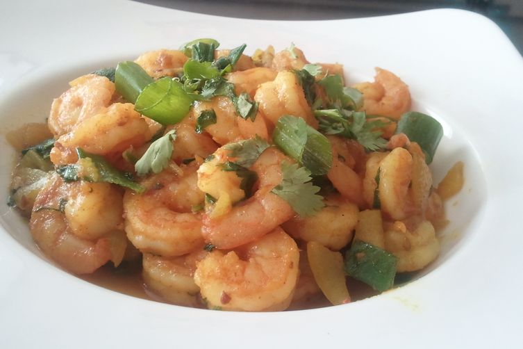 Spicy Shrimp Fry