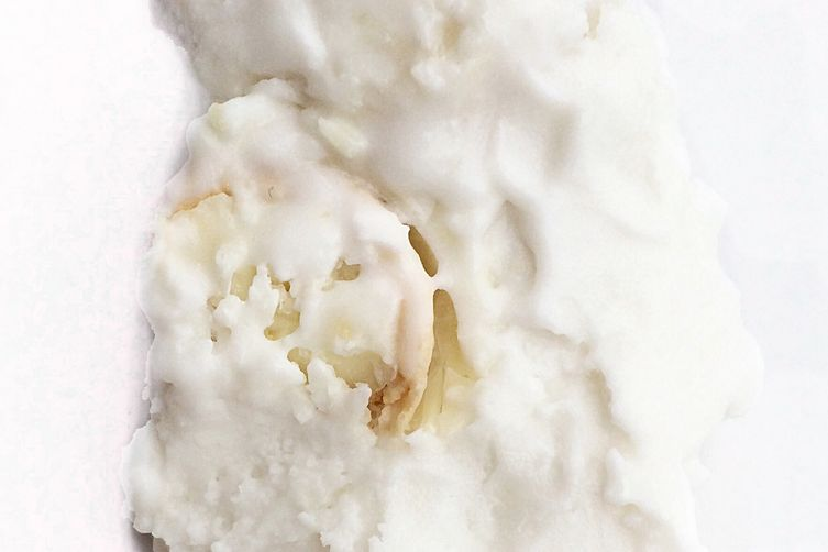 Made with Raffaello coconut ice cream