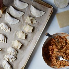 dumplings by Carolyn Caswell-sanson