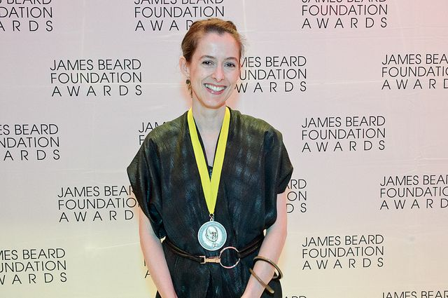 Amanda at James Beard Awards