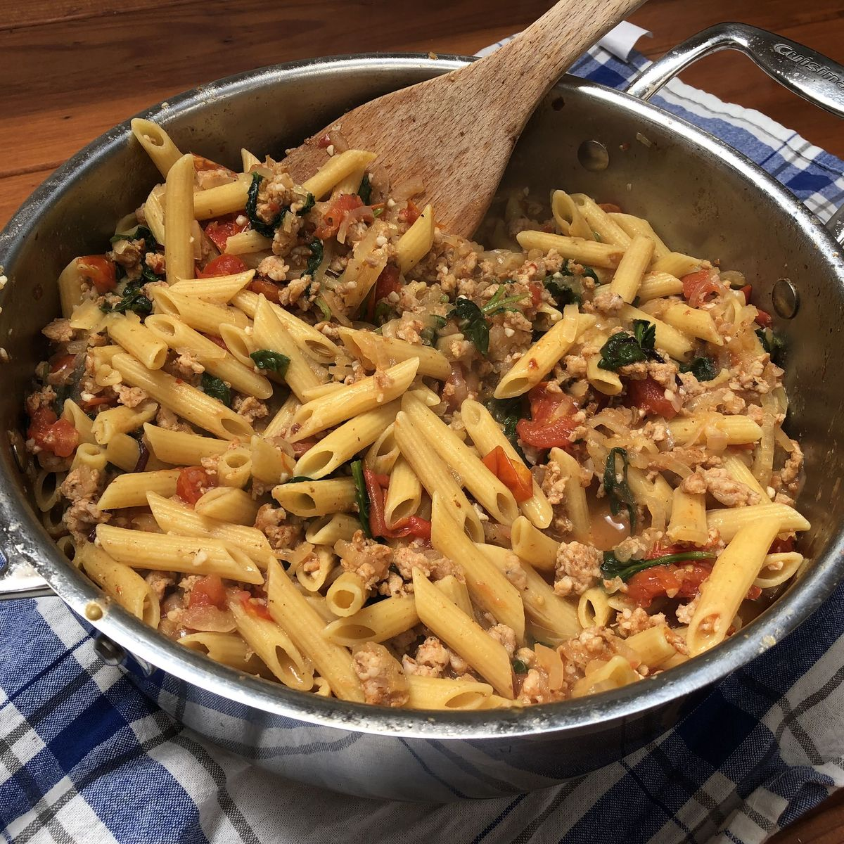 High Protein One Pan Pasta Recipe On Food52