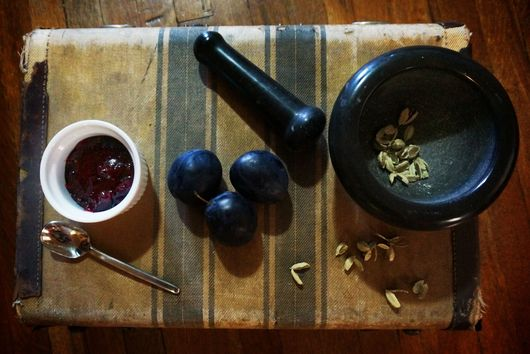 Anise Cardamon Spiced Plum Jam