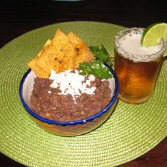 Refried Black Beans