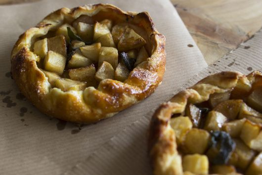 Apple and Sage Galette