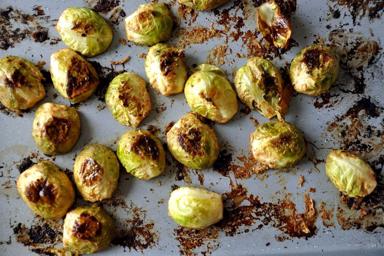 Tandoori Brussels Sprouts