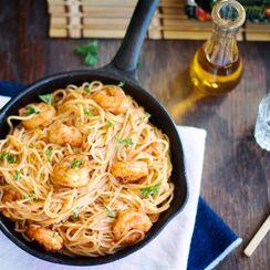 Marinated Spicy Shrimp Scampi