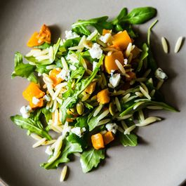 Fall Orzo Salad + Carrot, Sweet Potato, and Red Lentil Soup