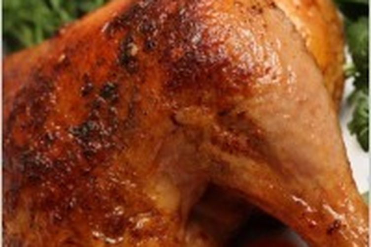Cooking with Tea!  Old Fashion Roasted Chicken
