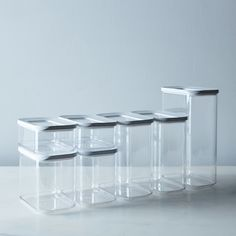 Modula Stackable Storage Container Starter Set