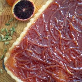 Blood Orange Cardamom Crostata
