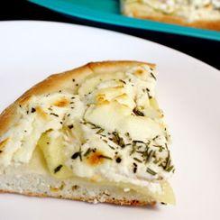 Potato Latke Pizza
