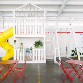 Inside Hedley & Bennett's Factory-Playground, Whimsy Reigns