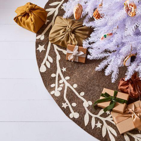 Handmade Holiday Felt Tree Skirts