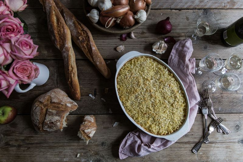 Pure comfort food, with a touch of (truffle oil) elegance.