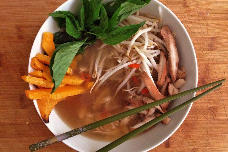 Thai Inspired Summer Soup