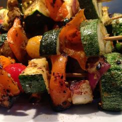 Sizzling, Smoky & Spice-packed Grilled Veggie Kebabs