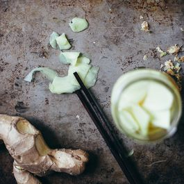 pickled ginger by Vicki Yeager