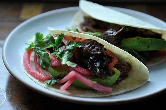 Citrus Pulled Pork Tacos by Erin Powell