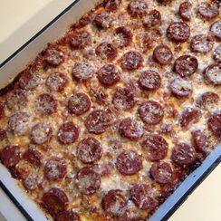Sausage Zwiebelkuchen (GF, LC)