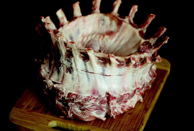 A crown! Of pork!