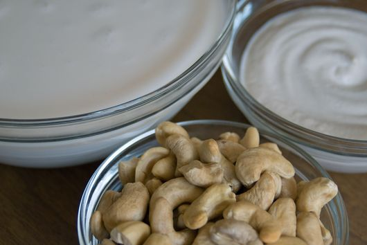2 for 1: Cashew Milk, Cashew Cream