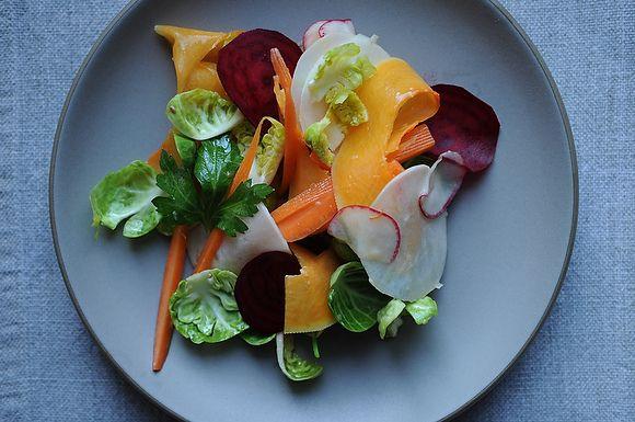 Bagna cauda salad from Food52