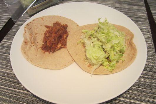 Shredded Turkey Tacos