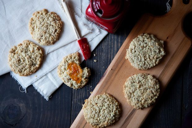 Scottish oat cakes from ZFood52
