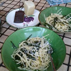Pasta with Dandelion Greens