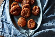 Deep-Fried, Red Bean-Filled Pumpkin Cakes Fit for a Kitchen God