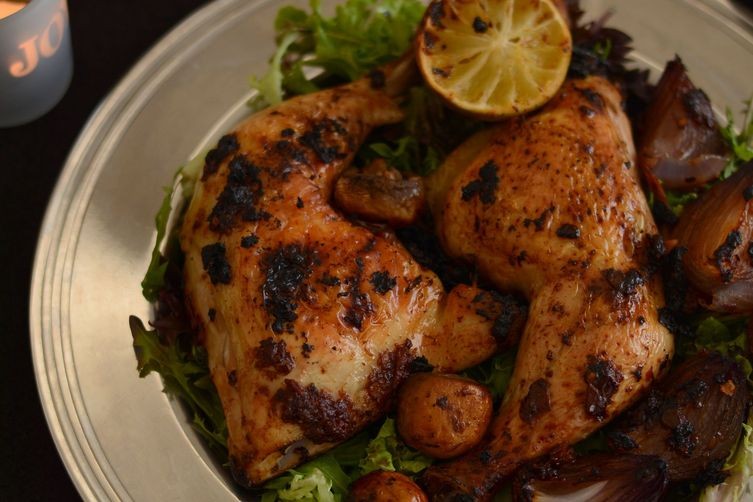Roast Chicken with Vegemite Masala