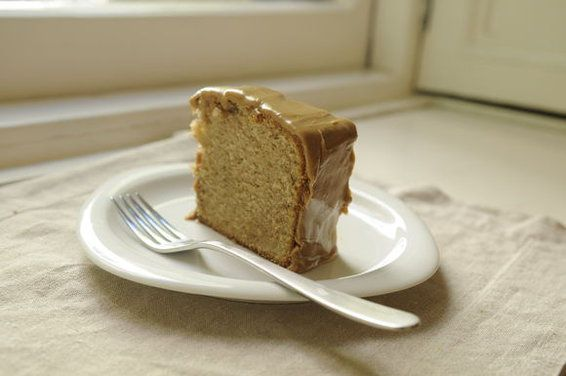 Faulknerian Family Spice Cake, with Caramel Icing