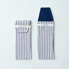 Cotton Pencil Case (Set of 2)
