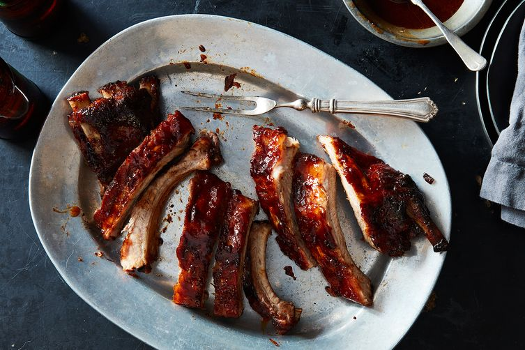 Sticky Chipotle Ribs