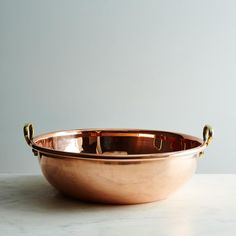 Vintage Copper English Preserve Bowl, Early 20th Century