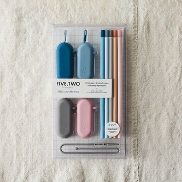 Colorful Hone Straw for Options Style 1 1-Pack