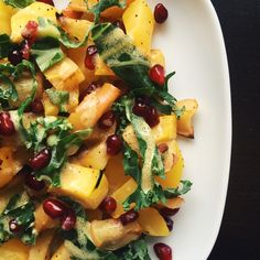 Roasted Apple & Acorn Squash w/Lemon Dijon Dressing
