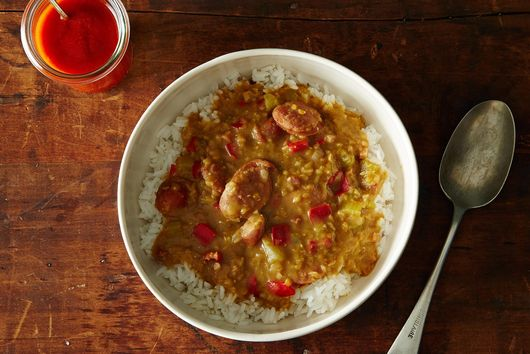 Sausage and Lentil Gumbo