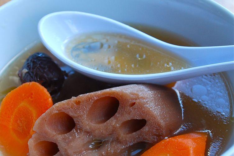 Lotus and Chicken Essence Broth