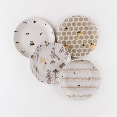Busy Bees Melamine Plates